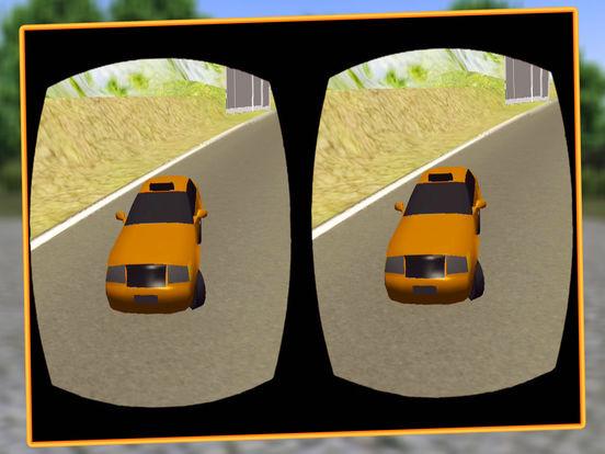 VR Modern Snow Taxi Driving screenshot 10