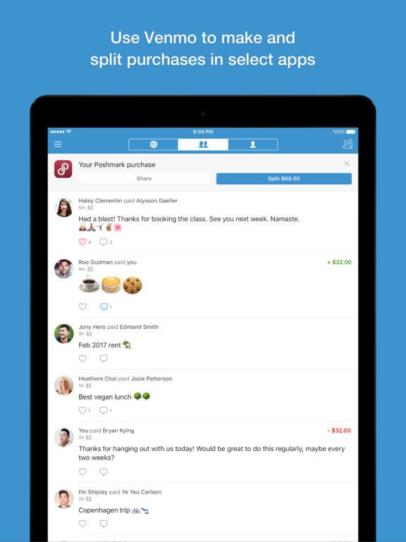 Screenshots for Venmo for iOS