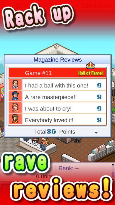 Game Dev Story Lite iPhone Screenshot 4