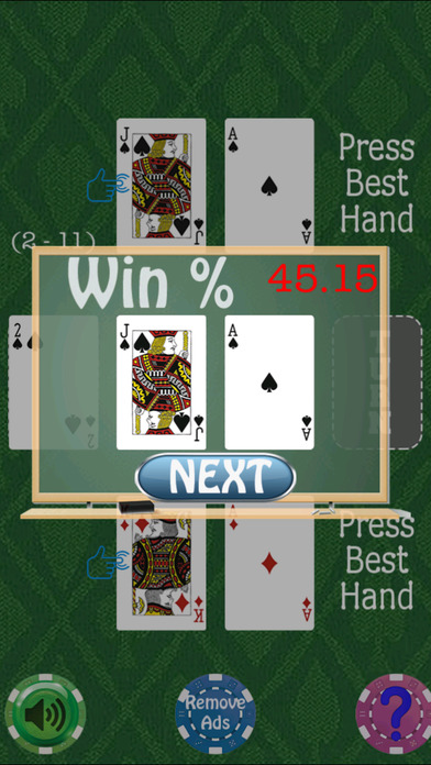 Screenshot 2 Poker Texas Hold 'Em Quiz