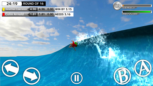 BCM Surfing Game - World Surf Tour Screenshots