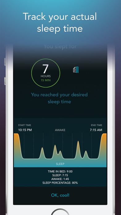 Sleep Science HQ: 750 sound alarm clock & tracker Screenshots