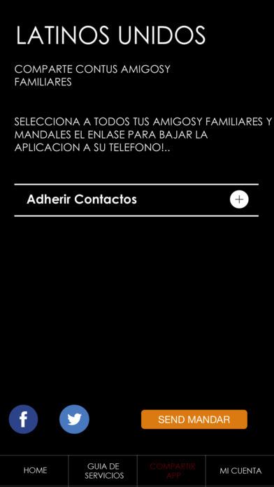 Latinos Unidos screenshot