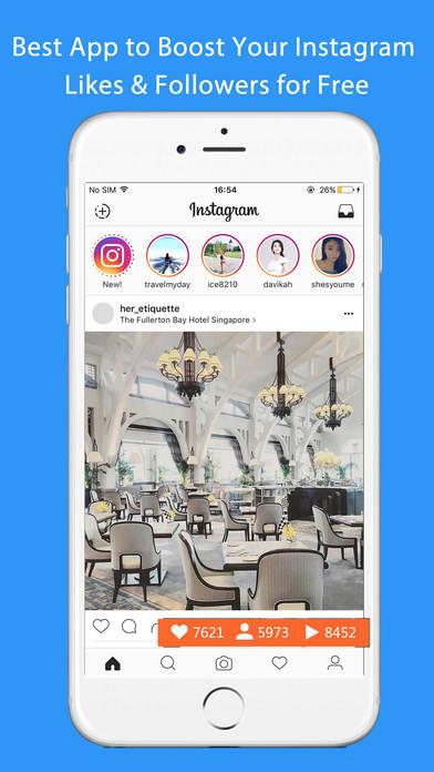 free likes on instagram app iphone