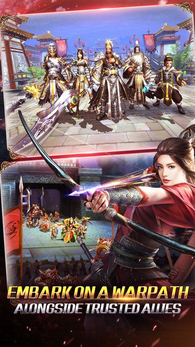 Kingdom Warriors - Classic Action MMO Screenshot