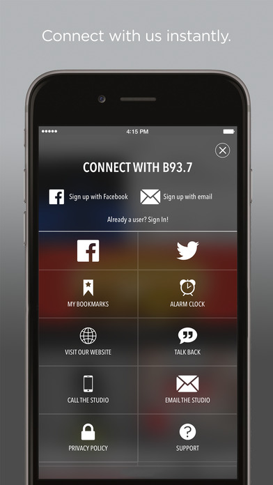 All The Hits, B93.7!!! iPhone Screenshot 2