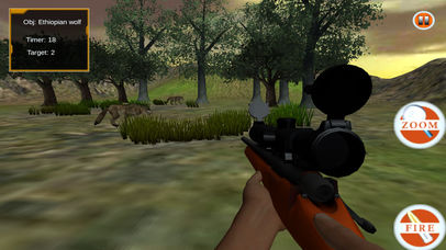 Wild Sniper Forest Hunting Pro screenshot 2