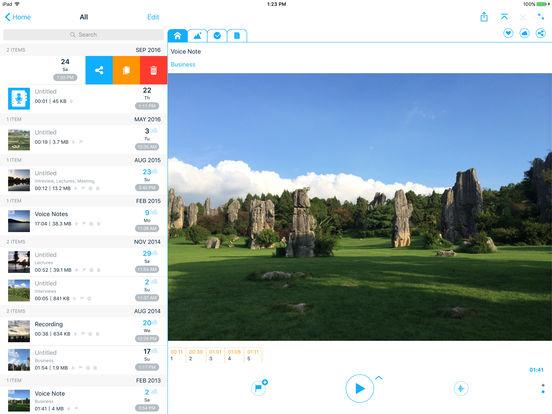 Voice Notes PRO - Voice Recorder, Diary & Memos Screenshots