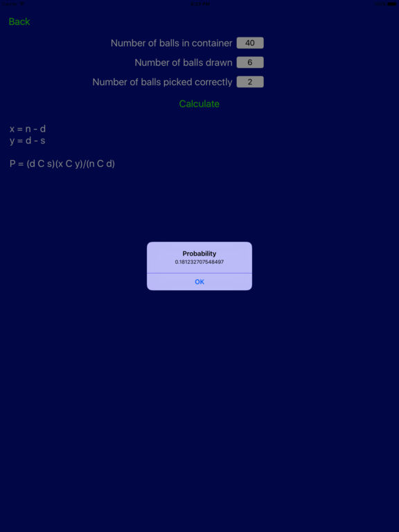 Probability Pro Screenshots