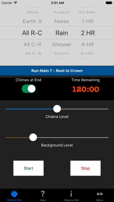 Chakra Pro iPhone Screenshot 1