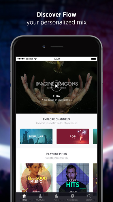 Screenshots of Deezer: Music Streaming, Songs, Albums & Artists for iPhone