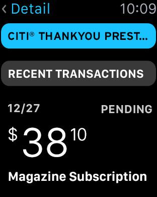 Citi Mobile (sm) iPhone Screenshot 7