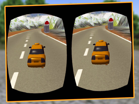 VR Modern Snow Taxi Driving screenshot 7