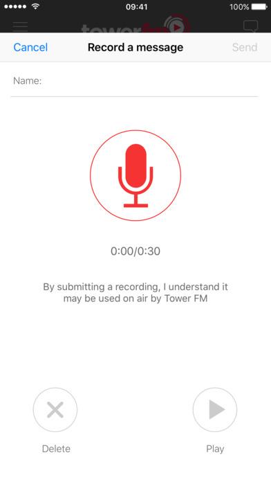 Tower FM iPhone Screenshot 3