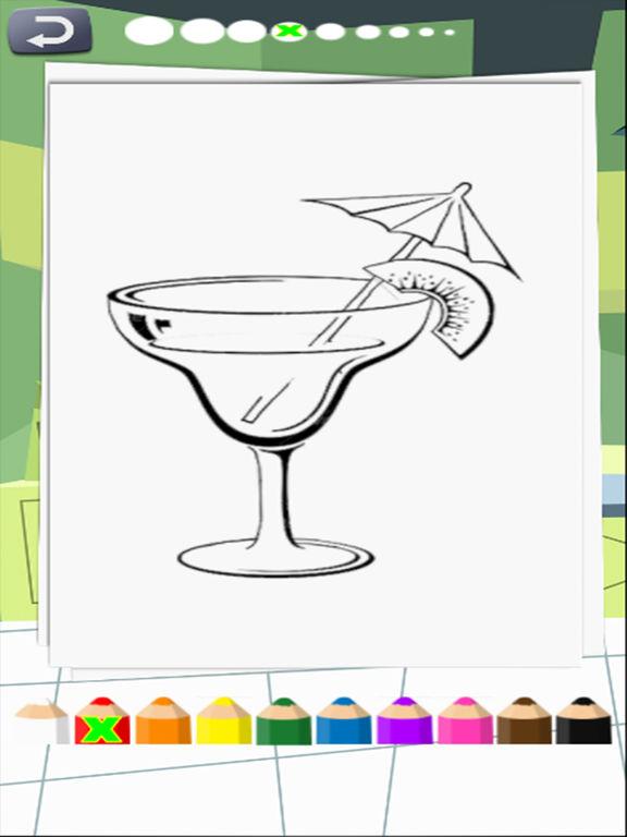 coloring books kitchen screenshot 6