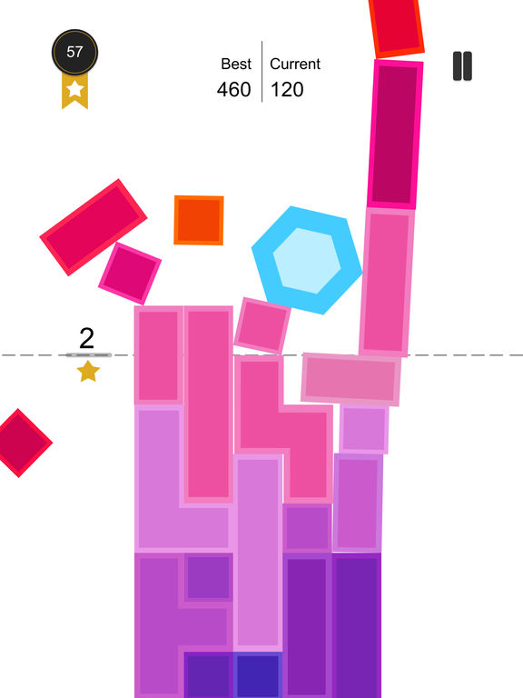 Tap Falling:Crush the tower of blocks screenshot 7