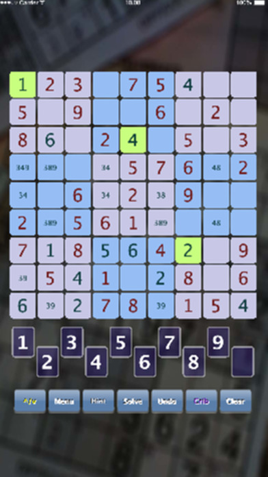 Mini Sudoku Lite iPhone Screenshot 2