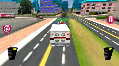 Fast Ambulance Rescue Duty 3D Pro screenshot 5