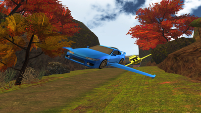 Flying Car Racing PRO - Full Simulator Version screenshot 4