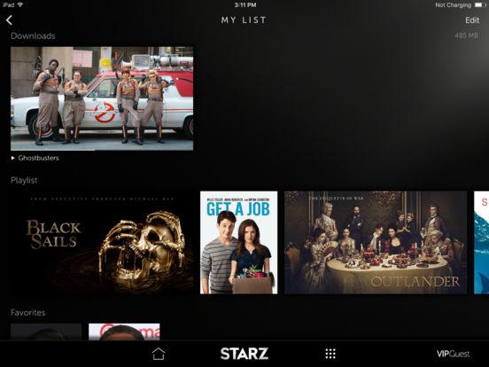 STARZ Screenshots