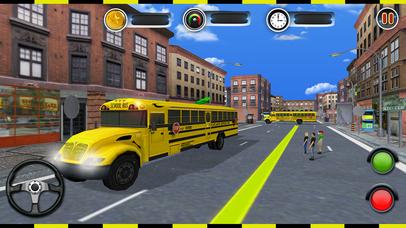 Real city high school bus driver 2017 screenshot