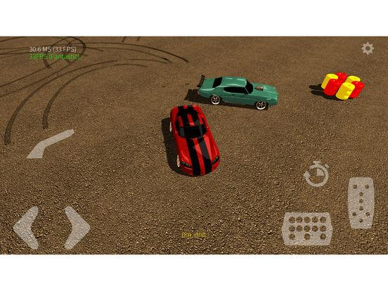 American Muscle Cars Drift 3D на iPad