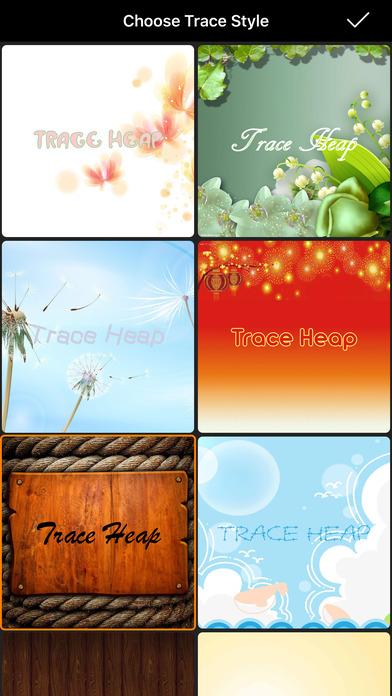 Trace Heap - My Video Diary Screenshots