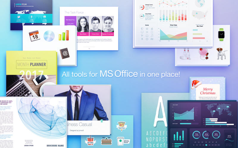 Toolbox for MS Office - Templates for MS Office for Mac