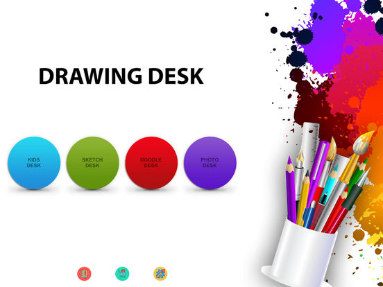 Drawing Desk - Draw, Paint, Doodle & Sketch board Screenshot