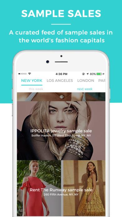 ShopDrop Sample Sales on the App Store
