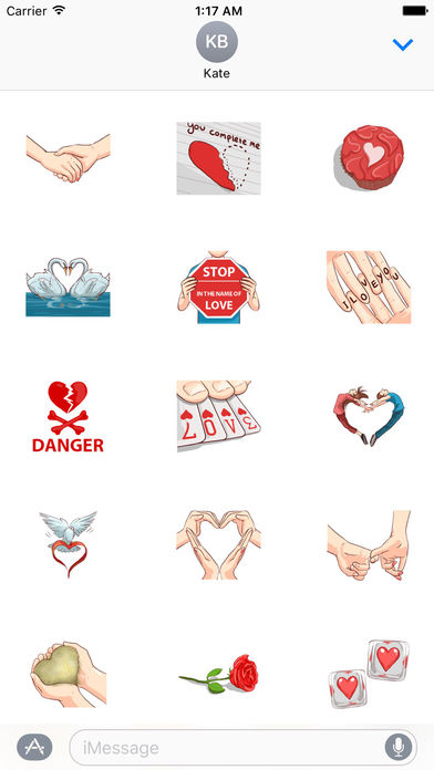 Forever Love You Stickers Packs screenshot 2