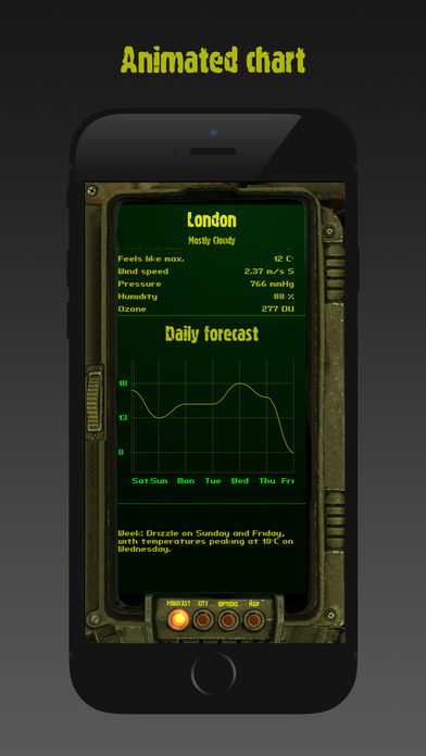 PIP-boy weather Screenshots