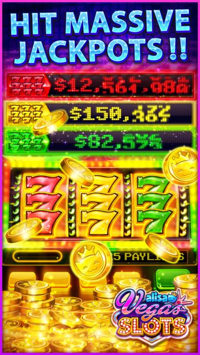 Screenshot 4 VEGAS SLOTS by Alisa – Fun Vegas Free Casino Games