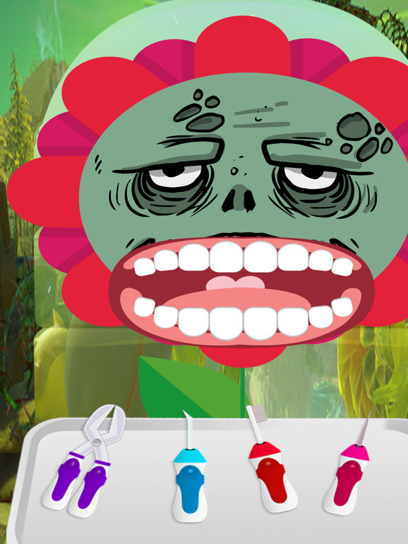 Coloring Book Chance The R Er Clean : App per zombie plants crazy dentist doctor salon games
