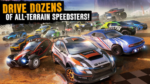 Asphalt Xtreme: Offroad Rally Racing Screenshots