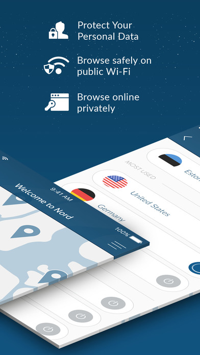 VPN by NordVPN - Unlimited Privacy & Security VPN app image
