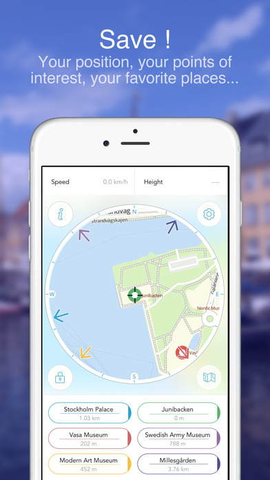 Stockholm on Foot : Offline Map Screenshots