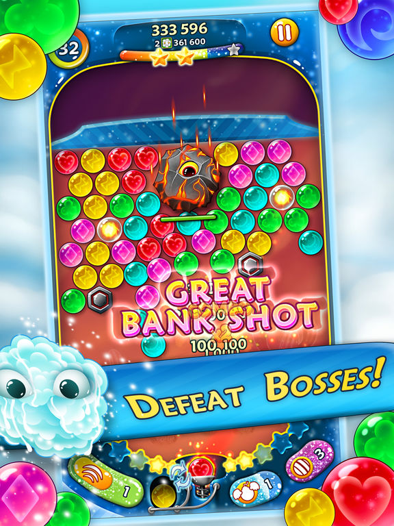 Bubble Bust! 2 - Pop Bubble Shooter для iPad