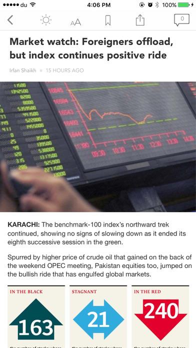 The Express Tribune iPhone Screenshot 3