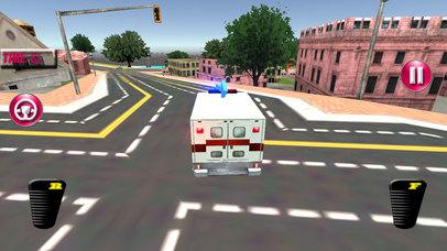 Fast Ambulance Rescue Duty 3D Pro screenshot 4