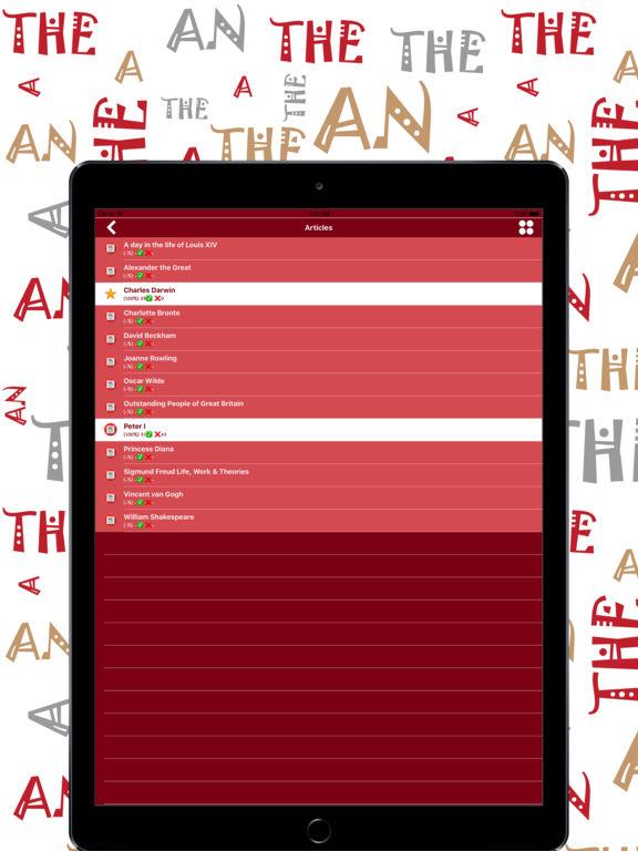 Articles Ultra: English Grammar Screenshots