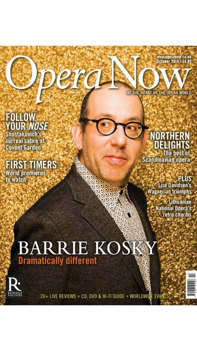 Opera Now Magazine iPhone Screenshot 3