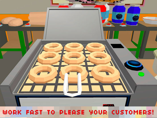 donut maker cooking chef full by tayga games ooo. Black Bedroom Furniture Sets. Home Design Ideas