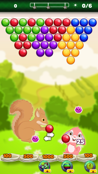 Screenshot for Pets Pop Bubble Wrap - Popping Bubbles Shooter HD in United States App Store
