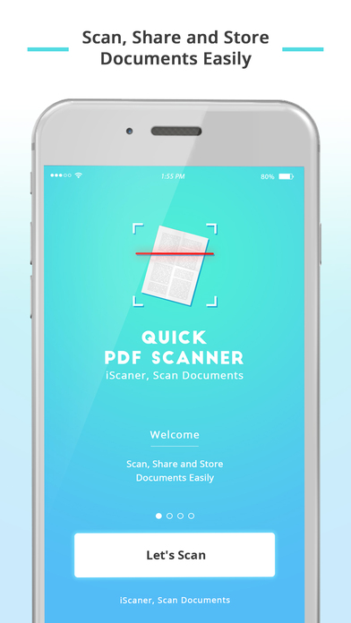 Quick PDF Scanner App - iScanner, Scan Documents Screenshots
