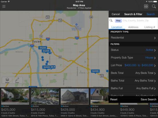 Tulsa MLS iPad Screenshot 4