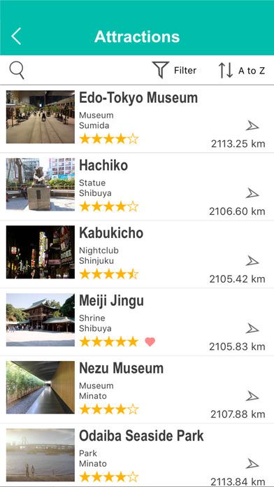 Tokyo Street Map Offline screenshot 5