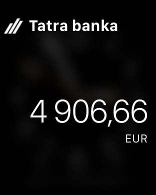 Tatra banka iPhone Screenshot 6