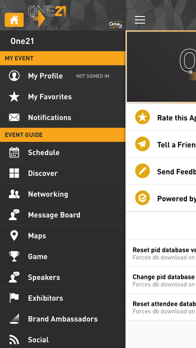 Century 21 one21 Apps free for iPhone/iPad screenshot