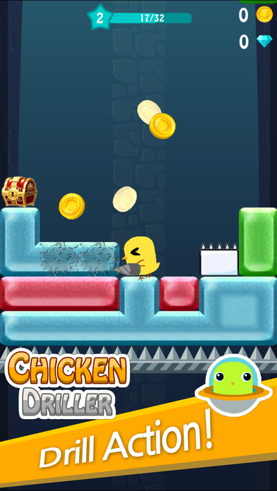 Chicken Driller : Can Your Drill Screenshot